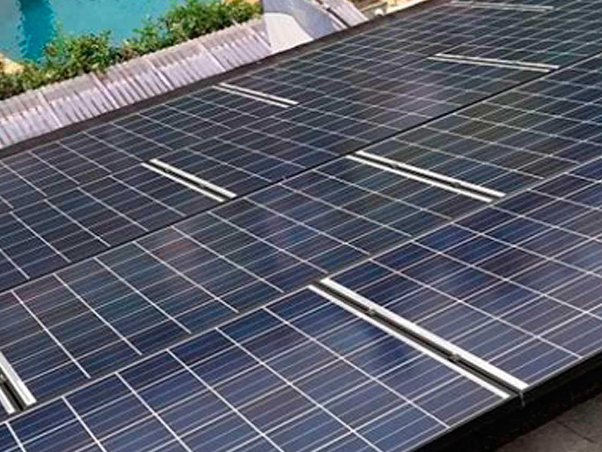 instalacion solar casa