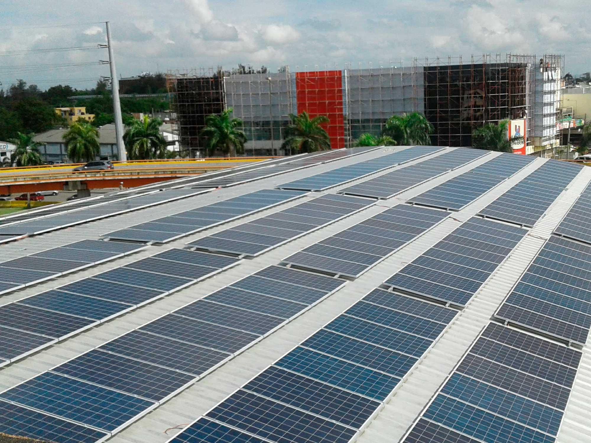 instalacion solar colegio claret