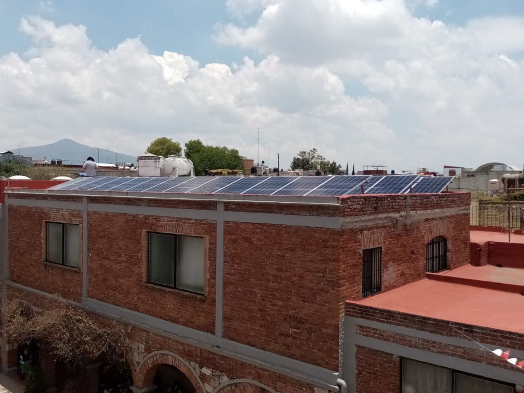 instalacion fotovoltaica mexico